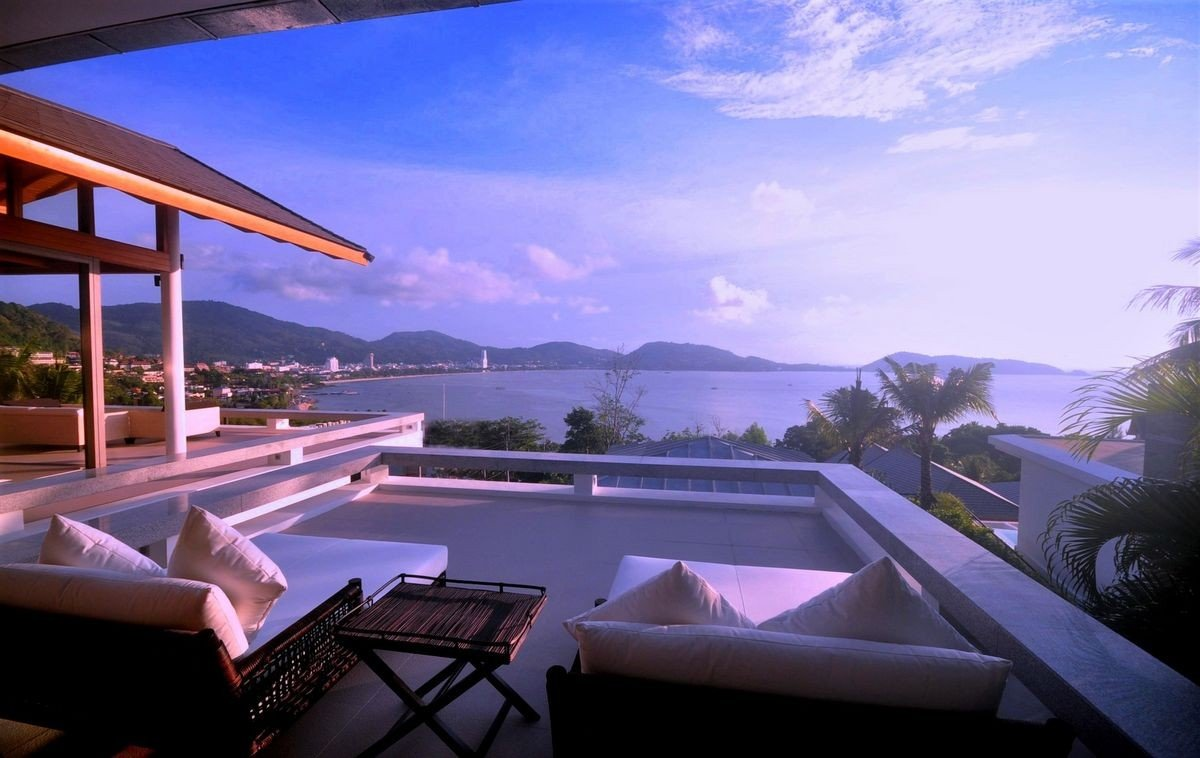 Kalim Sea View Villa Patong